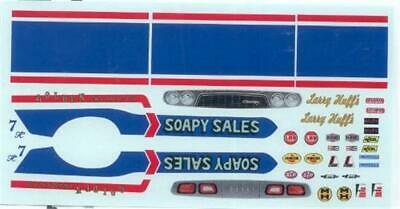 Yesteryear Soapy Sales Challenger F//C Drag decal