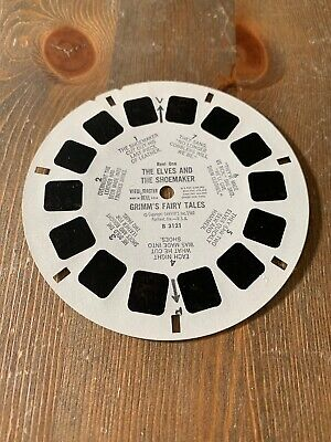 View Master 3D Bildscheibe -  B 3121 The Elves and the Shoemaker Grimms Fairy Ta