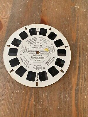 View Master 3D Bildscheibe -  B 3932 James Bond