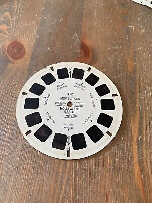 View Master 3D Bildscheiben 741 Movie Stars Hollywood