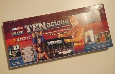 Tristar IMPACT Wrestling TENacious  Factory SEALED Box RARE!!!