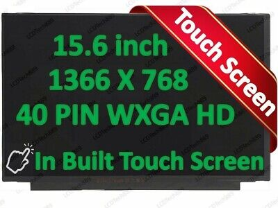 """New NT156WHM-T03 15.6/"""" 1366x768 HD WXGA LED LCD Touch Screen Digitizer Assembly"""