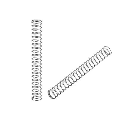 Stainless Steel Coil Extended Compressed Spring  5pcs/10pcs/20pcs/50pcs