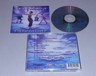 Album CD  Vengaboys - The Platinum Album  13 Tracks  2000