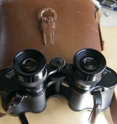 Lizar Sunlux binoculars with case