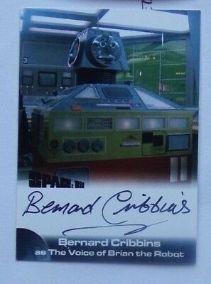 Unstoppable Space 1999 Series 2 - Bernard Cribbins  Autograph Card
