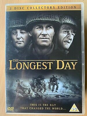 The Longest Day DVD 1962 World War II WW2 Movie Film Classic  2-Disc Set