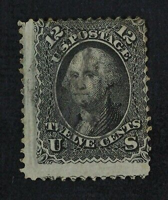 CKStamps: US Stamps Collection Scott#97 12c Washington Used Lightly Crease