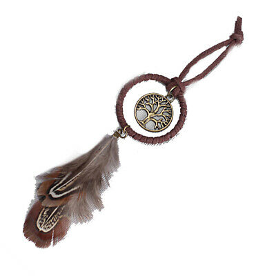 Creative Dream Feather Hanger Hanging Catcher Exquisite Circular Feather