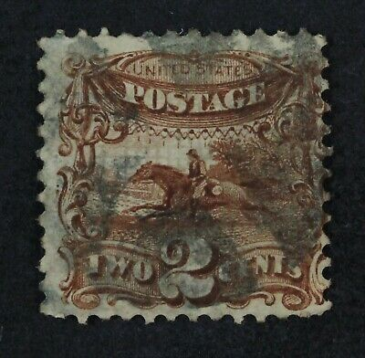 CKStamps: US Stamps Collection Scott#113 2c Pictorial Used CV$85