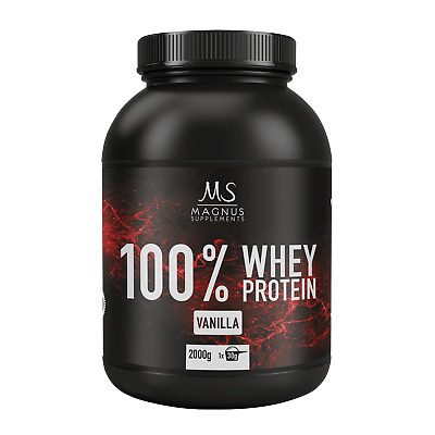 MAGNUS SUPPLEMENTS 100% WHEY PROTEIN - 2000g