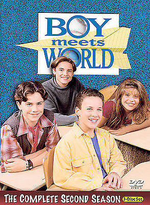 Boy Meets World - The Complete Second Season (DVD, 2004) new and sealed