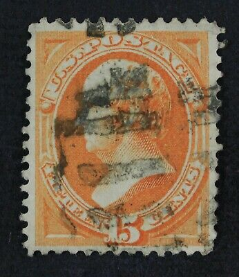CKStamps: US Stamps Collection Scott#163 15c Used Reperf CV$160
