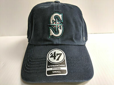 big sale 7fe54 90b7a Seattle Mariners Franchise  47 Brand Fitted Cap Unstructured Navy Hat MLB