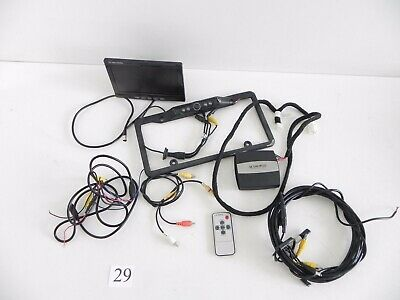 2006 Lexus Gs300 Is250 hinter Back Up Kamera Kennzeichen LCD Monitor Set 319 #29