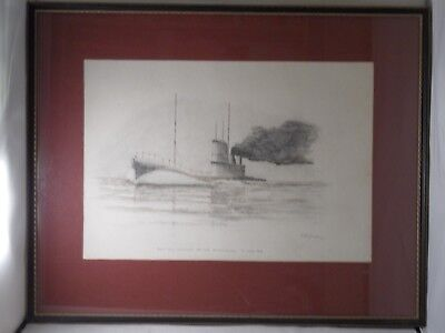 Submarines 1901-1976. 75 Years K Class 1916 1977? Painting Commander Js Lang