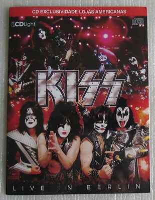 Kiss Live In Berlin Cd Sealed Made In Brazil 2016 Modern Day Delilah Say Yeah