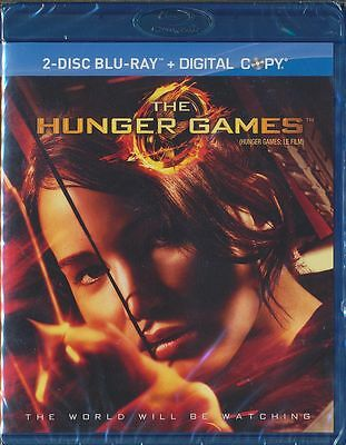 The Hunger Games (Blu-ray 2-Disc Set, 2012, Canadian) BRAND NEW