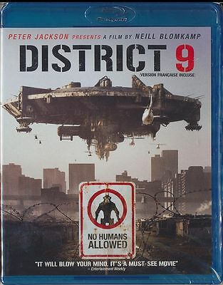 District 9 (Blu-ray Disc, 2009, Canadian) BRAND NEW