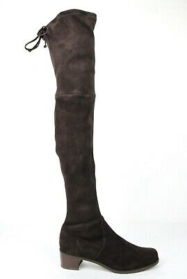9526a4a37 $798 Stuart Weitzman Women's Midland Cola Suede Over-The-Knee Boots