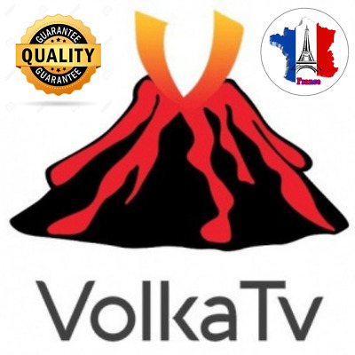 Volka pro 2 ABONNEMENT 12 mois HD ,smart Iptv, android TV box, H265, Amazon code