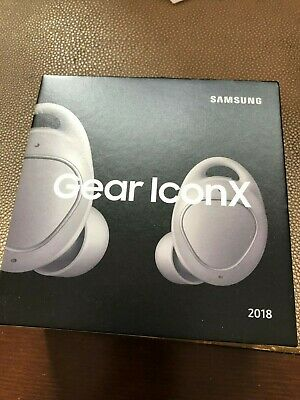 Samsung Gear IconX Wireless Bluetooth Cord-free Fitness Earbuds Grey 2018