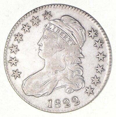 1822 Capped Bust Half Dollar - Button Variety *2527