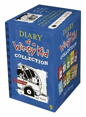 Diary of a Wimpy Kid 10 Book Slipcase, Kinney, Jeff, New