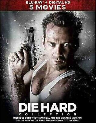 BLU-RAY Die Hard: 5-Movie Collection (Blu-Ray, 5-Disc Set) NEW