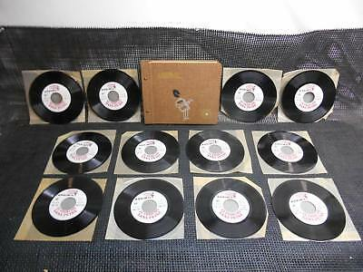Old Vtg ASSIMIL Le Franicais FRENCH LANGUAGE COARSE Records 1-12 COMPLETE SET