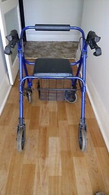Walker Frame, with basket & seat (Excellent condition)