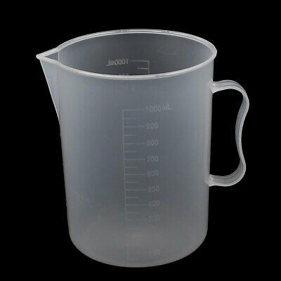 1000ML Measuring Cup Jug Graduated Surface Spoon Cooking Bakery Kitchen