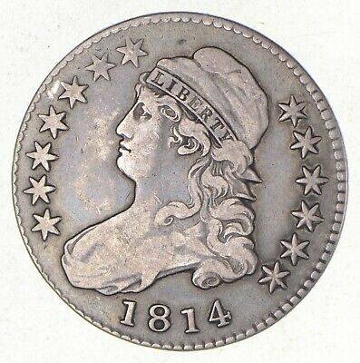1814 Capped Bust Half Dollar *2617