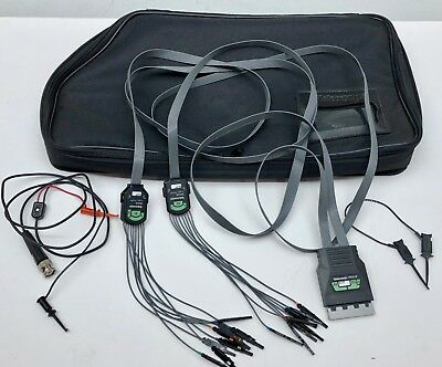 Tektronix P6410 Logic Probe w/ Leads and Bag Free Shipping