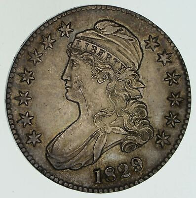 1829 Capped Bust Half Dollar - Circulated *4578