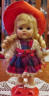 C1950's Vintage Vogue Ginny Walker Doll w/Original Tagged