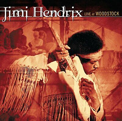Jimi Hendrix - Live At Woodstock - Double CD - New