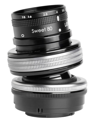 Lensbaby Composer Pro II incl. Sweet 80 Optic MFT NEW