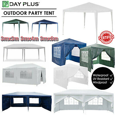 3x3m 3x6m Gazebo Auto Tent Canopy Market Stall Marquee Waterproof Outdoor HOT