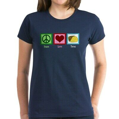 af23b283 CafePress Peace Love Tacos Women's Dark T Shirt Womens T-Shirt (566108894)