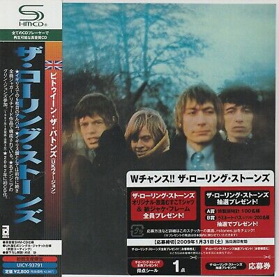 The Rolling Stones - Between The Buttons. Japan.obi.mini-Lp Sleeve.shm-Cd