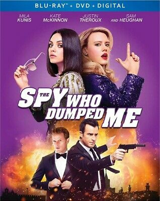 BLU-RAY Spy Who Dumped Me (Blu-Ray/DVD) NEW Mila Kunis, Kate McKinnon