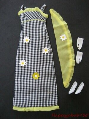 Vintage Francie #1291 Check This! Outfit Circa 1967
