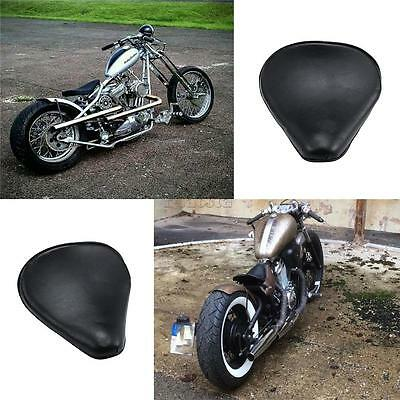 Custom Bobber Motorcycle Solo Seat Leather For Honda Shadow VT750 VT600 VT125