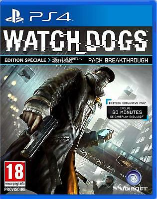 PS4 - WATCH DOGS 1 - Special Edition - Uncut - deutsch - PLAYSTATION 4 - USK 18