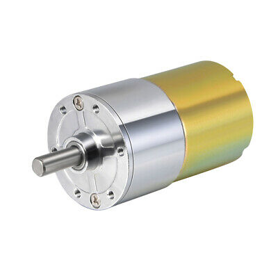 24V DC 100 RPM Gear Motor High Torque Reduction Gearbox Centric Output Shaft