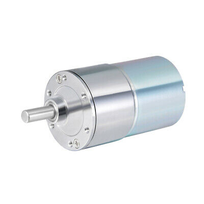 24V DC 200 RPM Gear Motor High Torque Reduction Gearbox Eccentric Output Shaft