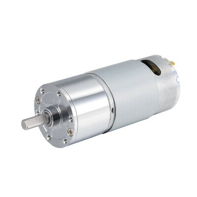 12V DC 200 RPM Gear Motor High Torque Reduction Gearbox Centric Output D Shaft