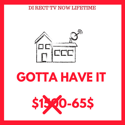 🔥 Direct TV Now | GOTTA HAVE IT  | + HBO + STARZ + CINEMAX + Showtime fast