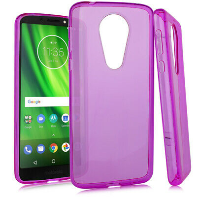 Motorola Moto G6 Play XT1922 - TPU Crystal Skin Case Hot Pink